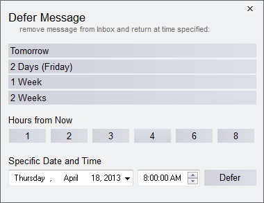 File and organize email with Outlook add-in